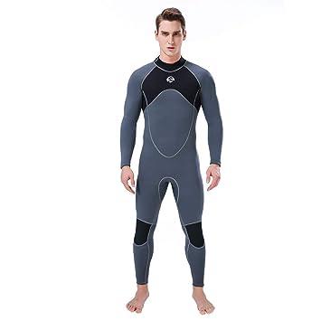 Slin Diving Hombres 3mm Full Traje de Neopreno de Surf ...
