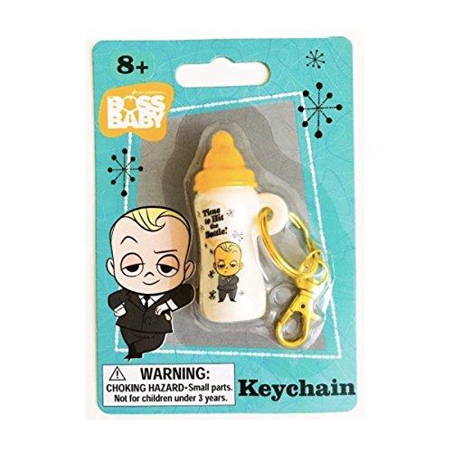 Boss Baby Bottle Keychain