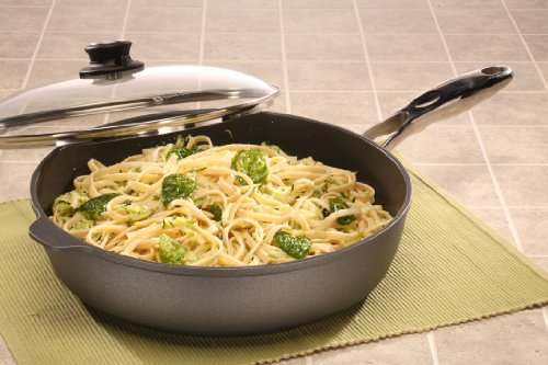 Swiss Diamond Induction Nonstick Saute Pan with Lid, Stainless Steel Handle - 5.8 qt (12.5'') by Swiss Diamond (Image #4)