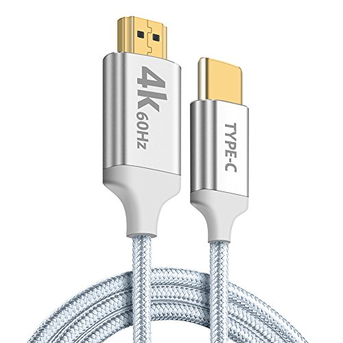 Aidina USB C to HDMI Cable, 4K@60Hz 6FT Braided USB Type C t