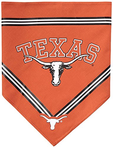 Collegiate Texas Longhorns Pet Bandana, Medium/Large - Dog Bandana must-have for Birthdays, Parties, Sports Games etc.. Michigan Dog Pet Varsity Jacket
