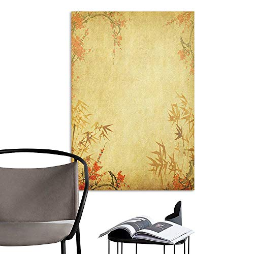 Wall Mural Wallpaper Stickers Bamboo Bamboo Stems and