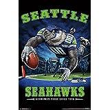 "Trends International Seattle Seahawks End Zone Wall Poster, 22.375"" x 34"""