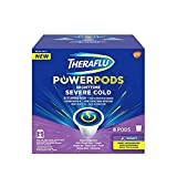 Theraflu PowerPods Nighttime Severe Cold Medicine, Honey Lemon with Chamomile & White Tea Flavors, 15 Count (15 Count)