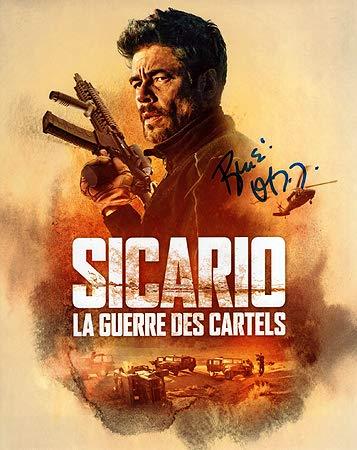BENICIO DEL TORO (Sicario) 8x10 Photo Signed In-Person at ...