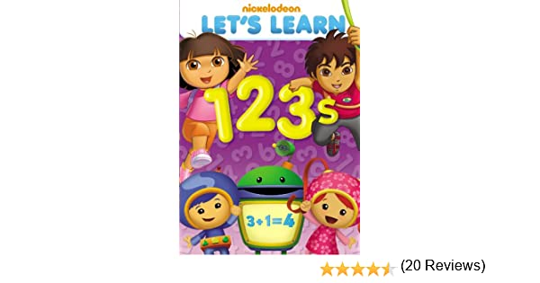 Amazon.com: Nickelodeon Let's Learn: 1, 2, 3: Let's Learn: Movies & TV