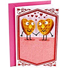 Hallmark Shoebox Funny Valentine's Day Greeting Card for Husband, Wife, Spouse, Boyfriend, Girlfriend, or Partner (Waffle Love)