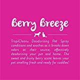 TropiClean Berry Breeze Deodorizing Pet Spray, 8oz