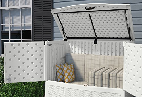 Amazon.com : Suncast VDB19500WSD Backyard Oasis Storage and Entertaining  Station, White : Garden & Outdoor - Amazon.com : Suncast VDB19500WSD Backyard Oasis Storage And