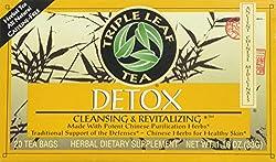Triple Leaf Detox Tea - 20 Bags