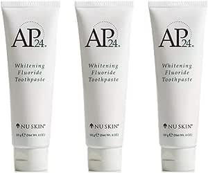 Nu Skin Ap-24 Blanqueamiento Pasta de Dientes con Fluorida Set 3 Pastas PACK SET: Amazon.es: Salud y cuidado personal