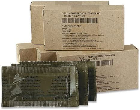 U.S Military Trioxane Fuel Bars – 3 pack
