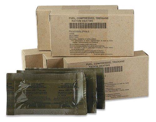 U S Military Trioxane Fuel Bars