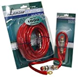 Lanzar LQ42 Contaq 4 Gauge Power Cable and In-Line Fuse Kit