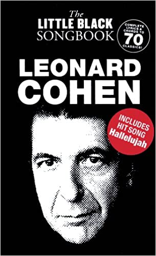 Amazon Leonard Cohen The Little Black Songbook Chords