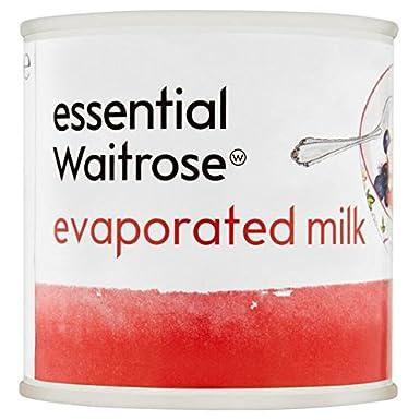 La leche evaporada esencial Waitrose 170g: Amazon.es: Alimentación y bebidas