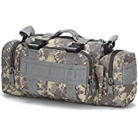 FAMI Utility 3P Military Tactical Duffle Waist Bags Tactical MOLLE Assault Backpack Multifunction Pockets Small EDC Camping Hiking Trekking Riding