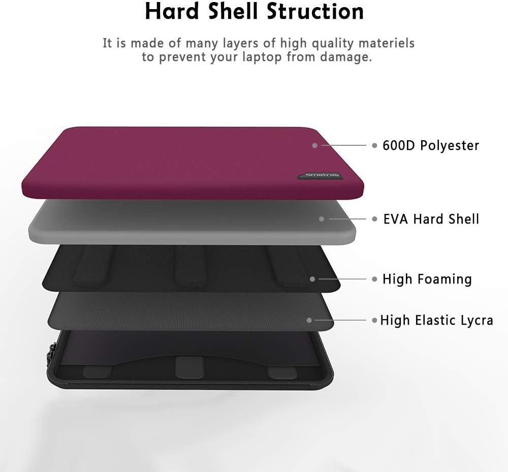 Smatree 13 Zoll Wasserdicht Laptop Sleeve Schutzh/ülle f/ür MacBook Air 13 Zoll//MacBook Pro 2019 13.3 Zoll//MacBook 12 Zoll//Surface Go