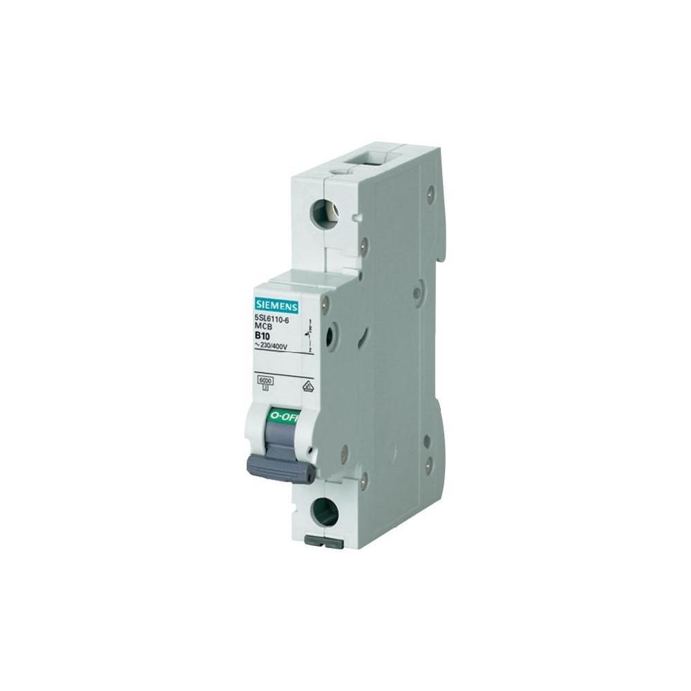 Siemens 5sl6 - Automá tico magnetotermico 230/400v 6ka 1 polo c-16a 5SL6116-7 324834