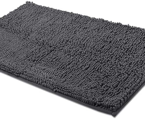 ITSOFT Non Slip Microfibers Absorbent Washable Charcoalgray product image