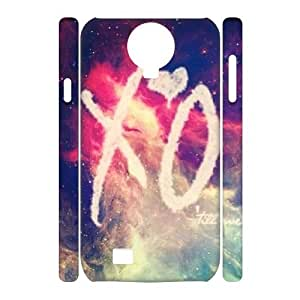 The Weeknd XO Custom 3D Case for SamSung Galaxy S4 I9500, 3D Personalized The Weeknd XO Case