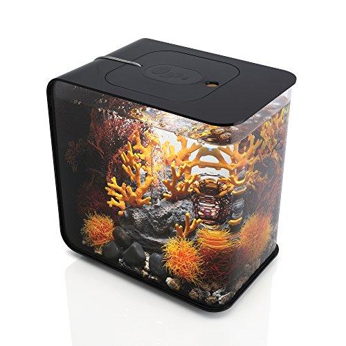 biOrb FLOW 15 Aquarium with MCR Light, Black- 46869