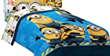 Universal ML440C Minions Testing 1234 Microfiber Twin/Full Comforter, 72 by 86-Inch