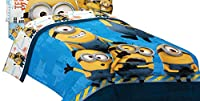 Universal ML440C Minions Testing 1234 Microfiber Twin/Full Comforter, 72 by 86-Inch