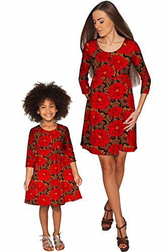 PineappleClothing Family Matching Mother Daughter Clothes, Mommy and Me Dresses by PineappleClothing