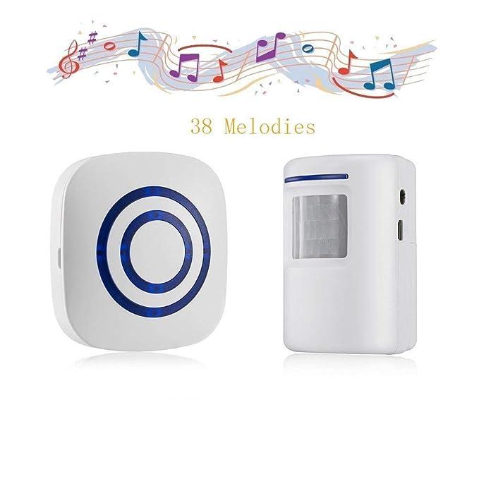 Amazon.com: dohaooe Smart Visitante timbre de la puerta ...