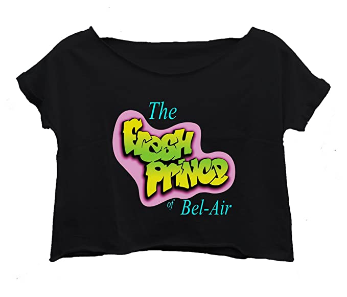 e089f18eb Lockeroom7 Women s The Fresh Prince Of Bel-Air T-Shirt Crop Top Shirt (