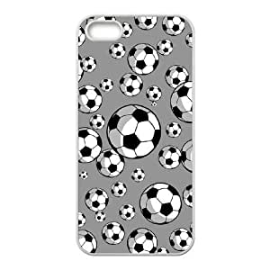 New Fashion Hard Back Cover Case for iPhone 5,5S with New Printed Soccer