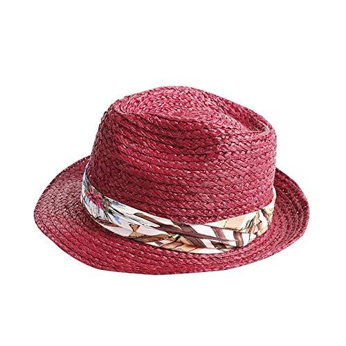 Happy-L Gorras Paño de algodón de Moda Decorativo Sunhat Lady ...