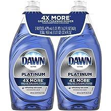 Dawn Platinum Dishwashing Liquid Dish Soap Refreshing Rain 2x16.2 oz