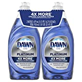 Dawn Platinum Dishwashing Liquid Dish Soap Refreshing Rain 2x16.2 oz