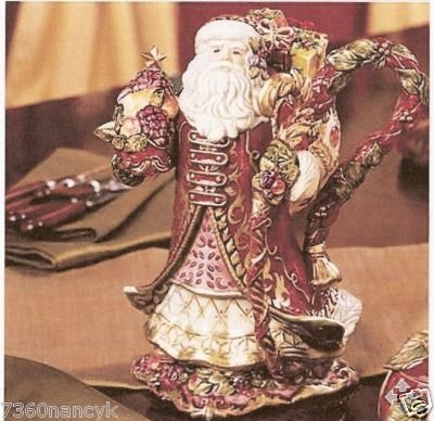 Renaissance Santa Teapot by Fitz & Floyd ()