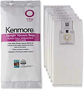 Kenmore 53294 Style O HEPA Cloth Vacuum Bags for Kenmore Upright Vacuum Cleaners 53294 pack 6bags -NEW!