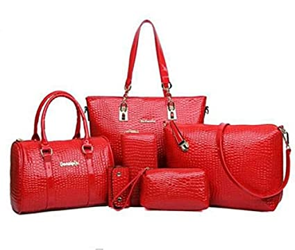 Mei&ge Crocodile Skin Pattern Glossy Finish PU/Synthetic Leather ...