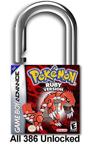 Pokemon Ruby Version Unlocked All 386
