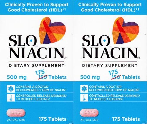 Slo Niacine 500mg deux Packs