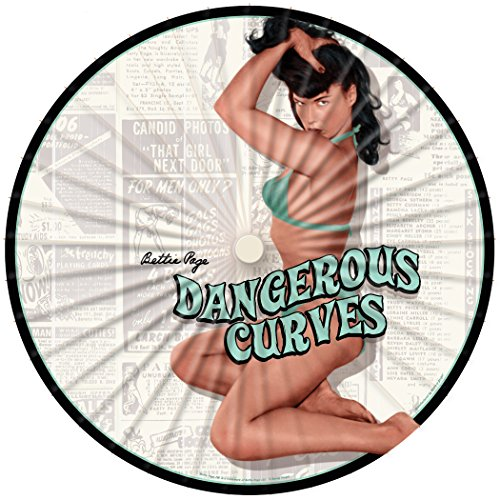Bamboo Vintage Umbrella (Retro-a-go-go! Bettie Page Dangerous Curves Paper Parasol, Sun Umbrella)