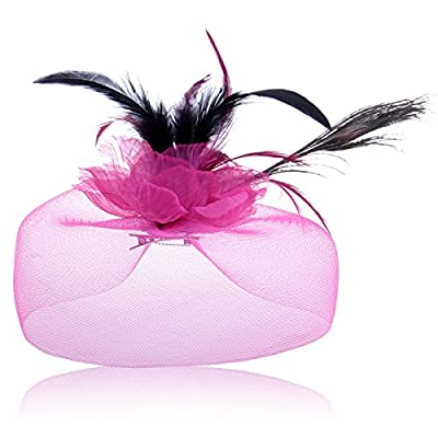 KPHY-Jacobs Plume Broche Broche Coiffe Ornements Pour Cheveux