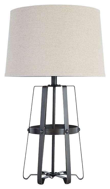 Amazon.com: Firma diseño por Ashley l207804 metal lámpara de ...