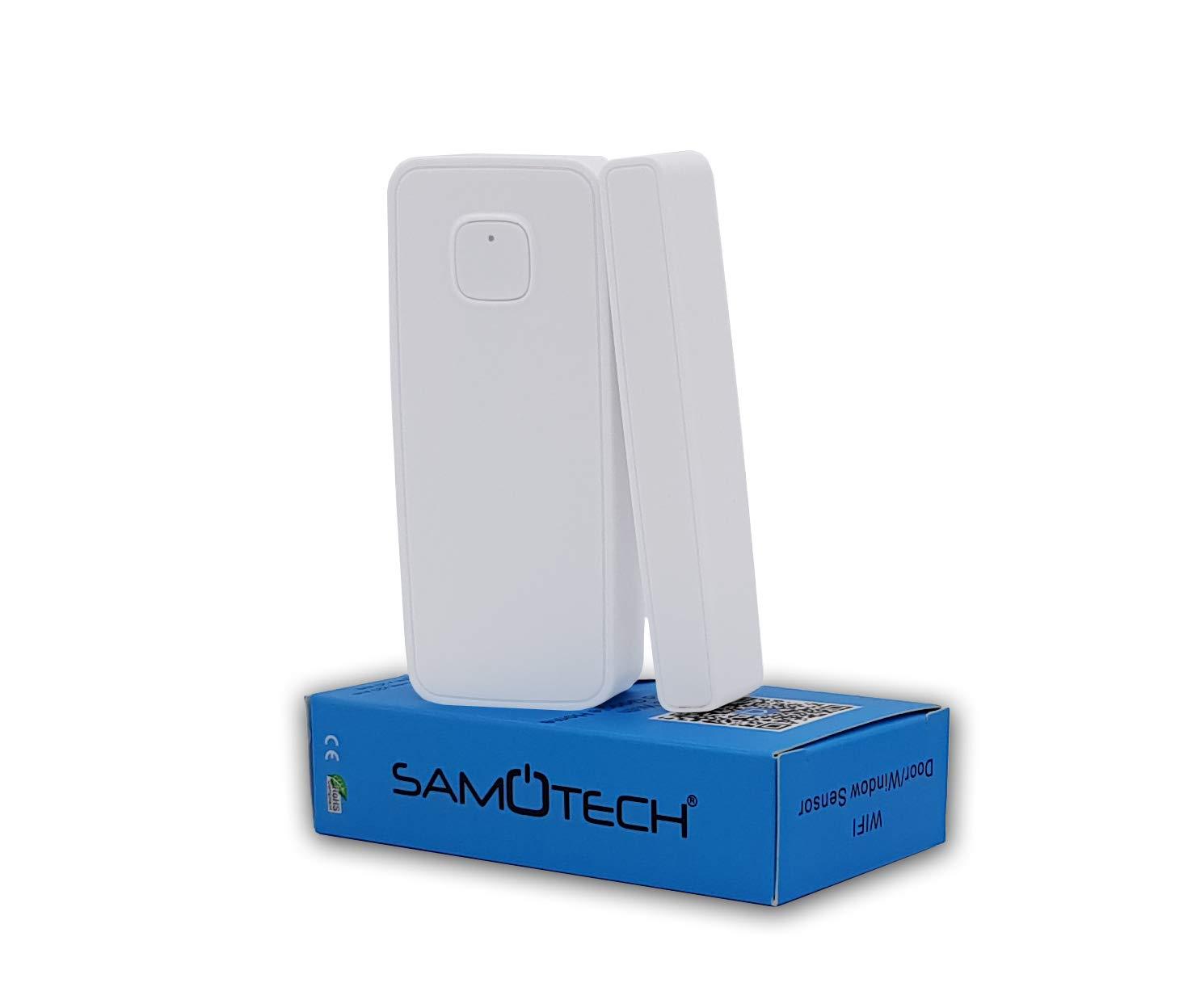 Samotech® - Sensor de WiFi para Puerta y Ventana Tuya