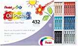 Photo : Pentel Arts Oil Pastels, 432 Piece Classroom Size Pack (PHN-12CP)