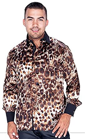 bf74ed97a0dc5 men's long sleeve animal print shirt at Amazon Men's Clothing store: