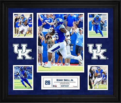 Benny Snell Jr. Kentucky Wildcats Framed 23