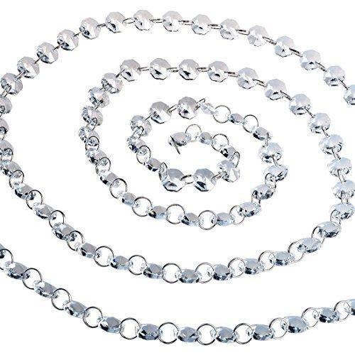 CrystalPrismWorld 6ft Crystal Garland Chandelier Chain #C6019