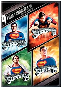 4 Film Favorites: Superman (Superman II: Special Edition, Superman III: Deluxe Edition, Superman IV: Deluxe Edition, Superman, The Movie: Special Edition)