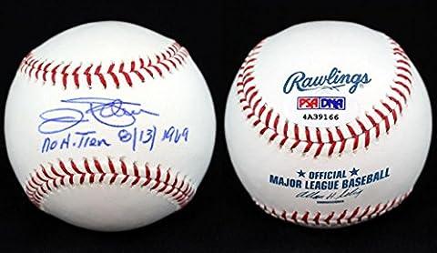 Jim Palmer Autographed Baseball - ROMLB + No Hitter 8 13 1969 ITP - PSA/DNA Certified - Autographed - Jim Palmer Baseball